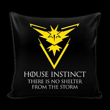 "Pokemon house instinct there is no shelter from the storm Pillow Cover 16""- TL00629PL"