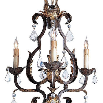 Currey Company Tuscan Chandelier, Small