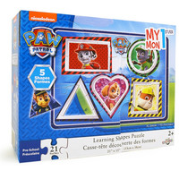 Paw Patrol Learning Shapes Puzzle [21 Pieces]
