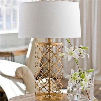 Regina Andrew Lighting Mosaic Drum Table Lamp