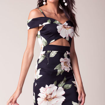 Danica Off Shoulder Floral Dress