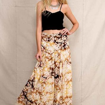 Urban Renewal Bleached Maxi Skirt- Assorted