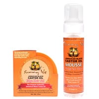 Sunny Isle Jamaican Black Castor Oil Edge Gel and Mousse Combo