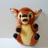 BAMBI DISNEY'S BABIES Stuffed Plush Toy EUC gift for baby, shower gift, lovey