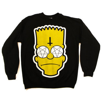 Bartholomew Crew Neck Sweatshirt [B] | KILL STAR