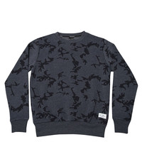 King Apparel - Night Camo Crew - Navy
