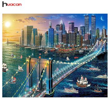 5D Diamond Painting New York City Kit