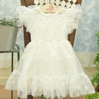 white dress for baby girls
