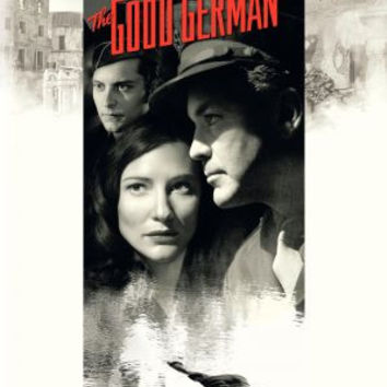 The Good German Movie Poster 27x40 Used Cate Blanchett, Tobey Maguire, Michael Bravo, Tony Curran, Don Pugsley, David Willis, Dave Power, Beau Bridges, Zvonimir Hace, Jack Thompson, Brandon Keener, Leland Orser, George Clooney, Gian Franco Tordi