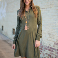 You Belong With Me Dress, Olive