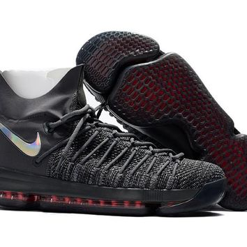 auguau Nike Men's Durant Zoom KD 9 Flyknit Basketball Shoes Black 40-46