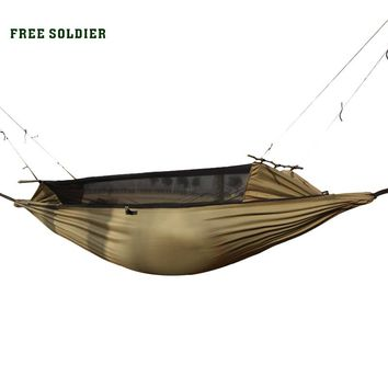FREE SOLDIER Outdoor Sports Camping  Wear-Resisting Tent Multi-Function Portable Mosquitoes Hammock Small Size