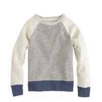 Boys' colorblock sweatshirt