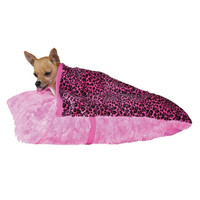 Hot Pink Leopard Pet Pocket
