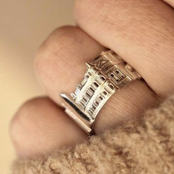 Toronto Cityscape Statement Ring