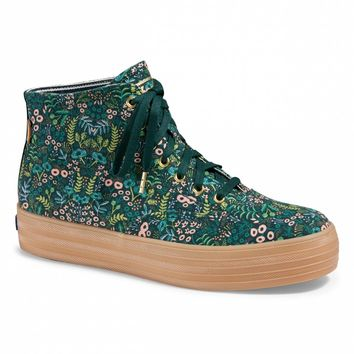 Tapestry Triple Decker Hi Sneaker
