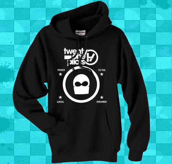 twenty one pilots crewneck hoodie for men from stevanya on. Black Bedroom Furniture Sets. Home Design Ideas