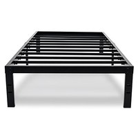 Zinus 14 Inch Classic Metal Platform Bed Frame with Steel Slat Support/Mattress Foundation, Queen