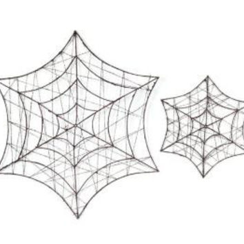 12 Halloween Decorations - Spider Webs