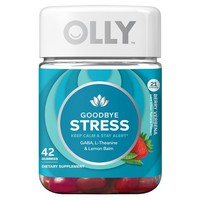 Olly Goodbye Stress Dietary Supplement Gummies - Berry Verbena - 42ct