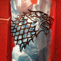 Game of Thrones inspired hand painted beer mug