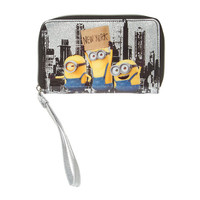 Despicable Me Minions in New York Smartphone Wristlet