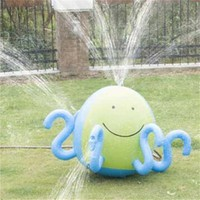 Kids Inflatable Water Spray Ball Sprinkler Octopus Squirt Lawn Pool Toy Fun PVC Outdoor Swim Pool Spray Water Pool & Accessories