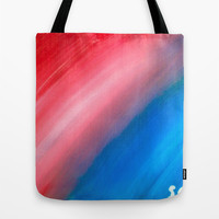 Strip of Light Tote Bag by Sierra Christy Art