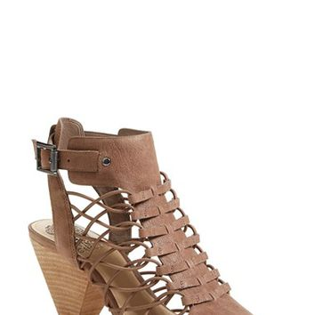 "Women's Vince Camuto 'Evel' Leather Sandal (Nordstrom Exclusive), 3 1/2"" heel"