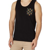 Dotted Pineapple Pocket Tank