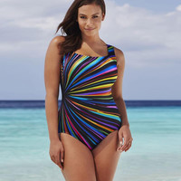 Plus Size Female Swimsuit
