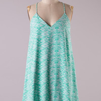 Wake the World Dress - Mint