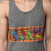 Junk Food Keith Haring Stripe Tank Top