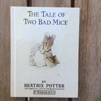 The Tale of Two Bad Mice - Vintage Beatrix Potter Children's Book, 1987