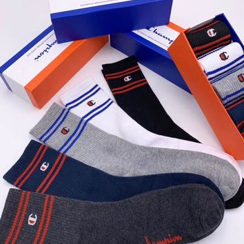 Champion Fashion 5 Pairs Per Set Sock Style #191
