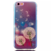 Dandelion Blue Light Case Cover for iPhone & Samsung Galaxy S6  Unique iPhone 6s Plus
