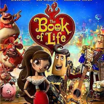 Book Of Life (2014/Blu-Ray/Dvd/Dhd/2 Disc/Ws-2.39)