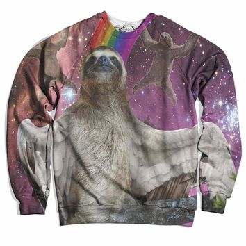 Flying Sloth Sweater