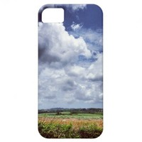 Barbados Fields iPhone 5 Cases