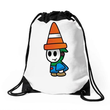 personnage super mario Drawstring Bags