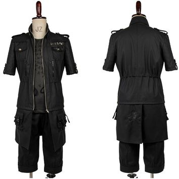Final Fantasy 15 FF15 Noctis Lucis Caelum Prince Noct Cosplay Jacket Only Carnival Cosplay Costume Male Female Custom Made Sets