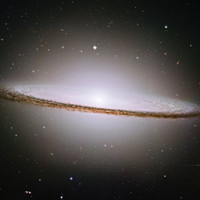 Sombrero Galaxy Space Poster 3 Sizes for one LOW price. (8x10 , 11x14, 11x17)