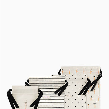 Getting Dressed Travel Bag Set | Kate Spade New York
