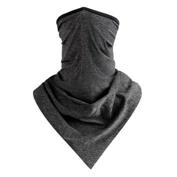 Summer Scarf Outdoor Sports Cycling Bandana Equipment Headwear Ride Neck Mask Bike Triangle Bicycle Headband Scarf