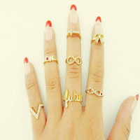 Gift Stylish Jewelry Shiny New Arrival Accessory Butterfly Diamonds Ring [6573102215]