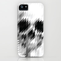 white skull  iPhone & iPod Case by pinarinadresi