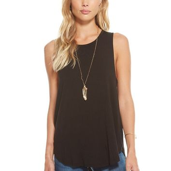 Women's Chaser Brand Strappy Scoop Back Muscle Tank