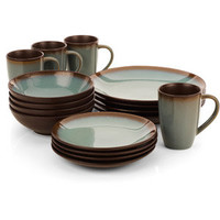 Walmart: Hometrends Lagoon 16-Piece Dinnerware Set