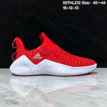 KUYOU A372 Adidas Alphabounce Beyond Breathable Runing Shoes Red