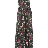 **Wrap Split Front Maxi Dress by Oh My Love - Dresses - Clothing